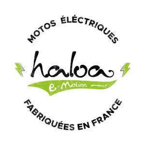 Logo motos électriques fabriquées en France