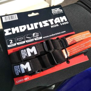 Sangles Enduristan pour bagage moto